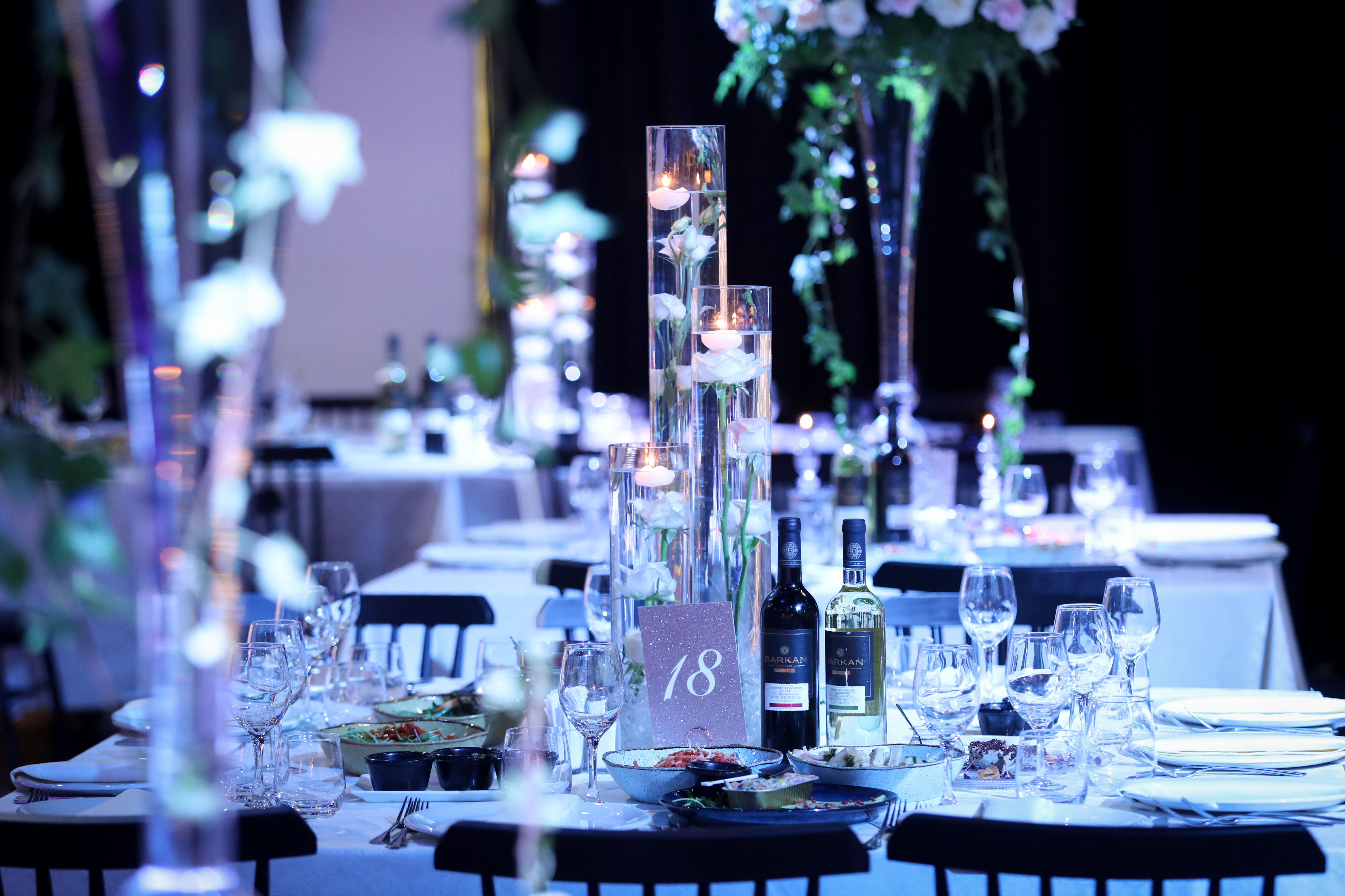 Tablescape Jerusalem Wedding Design Adena Mark